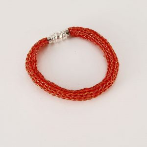 bracelet maille zrak angelique tisserande et passementiere