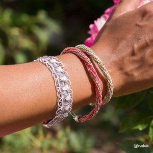 Bracelets tressés ronds
